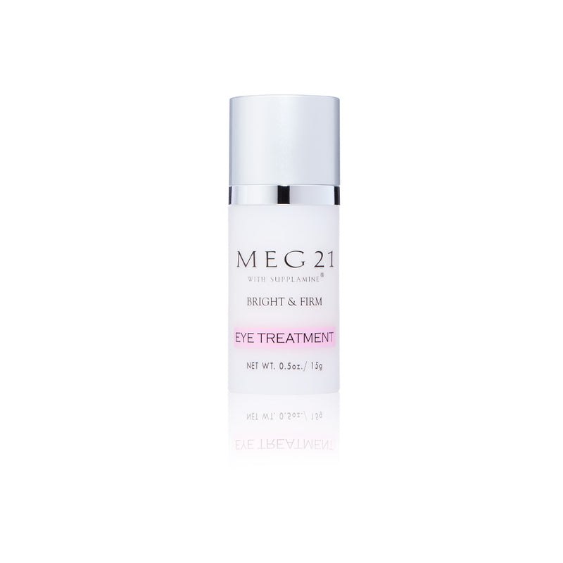 MEG 21. Eye Treatment, crema antiarrugas para contorno de ojos con Supplamine. 15 gr