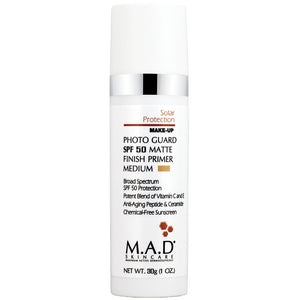 Photo Guard SPF 50 Matte Finish Primer, base de maquillaje matte protectora. 30 gr