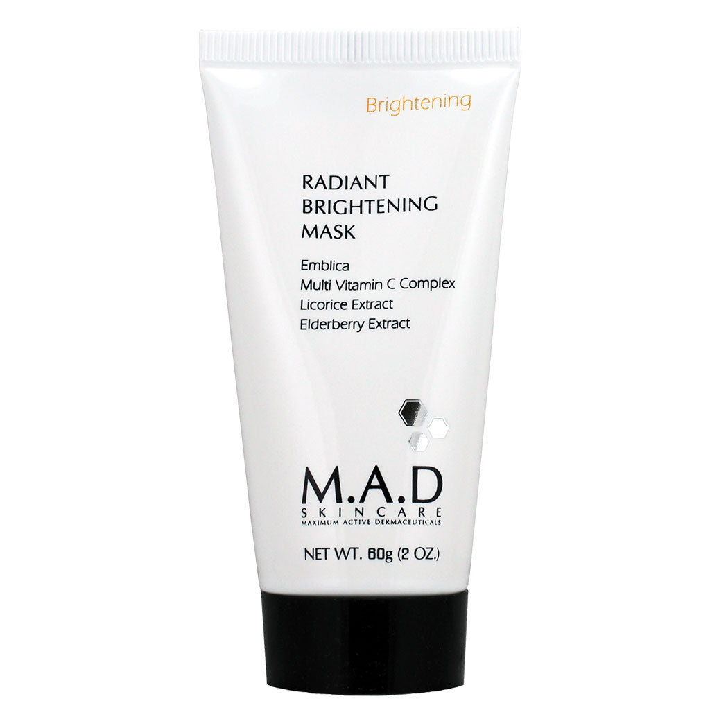 M.A.D. SkinCare. Radiant Brightening Mask, mascarilla facial nocturna. 60 gr