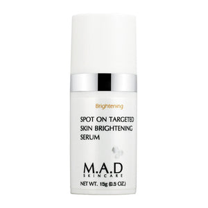 Spot On Targeted Skin Brightening Serum, tratamiento antimanchas unificador.