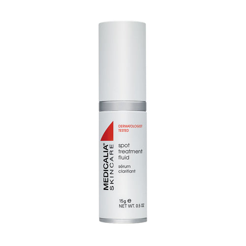Spot Treatment Fluid, suero concentrado que reduce las  espinillas localizadas. 15 ml
