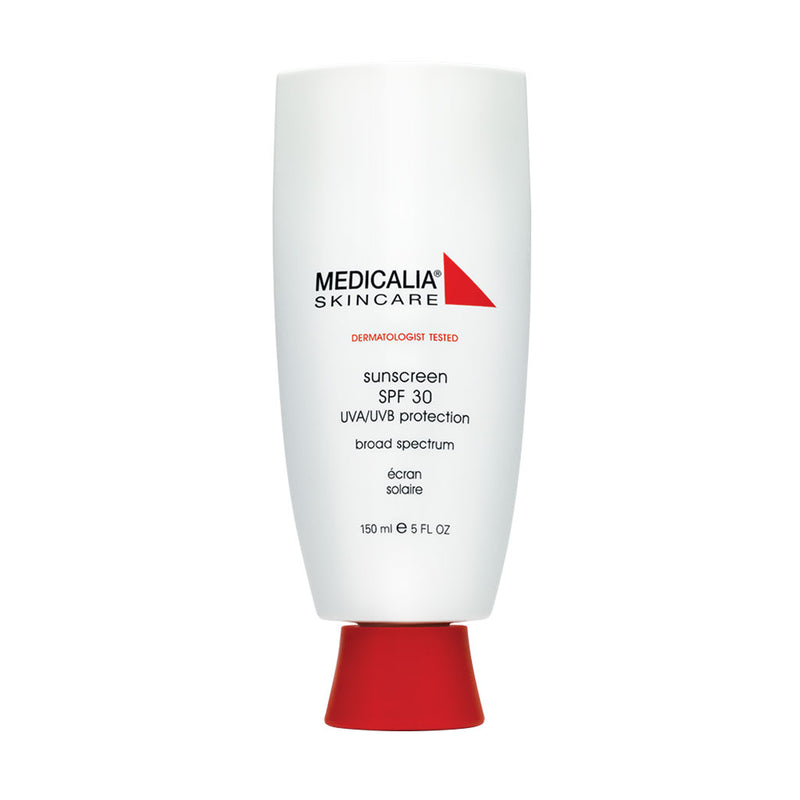 Medicalia. Sunscreen SPF 30, protector solar con color para uso post operatorio o piel sensible. 150 ml