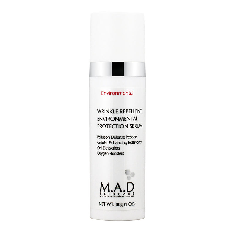M.A.D. SkinCare. Wrinkle Repellent Env. Protection Serum, suero protector antioxidante. 30 gr