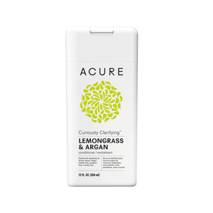 Acure. Curiously Clarifying Conditioner - Lemongrass, limpieza profunda todo tipo cabello.  354 ml