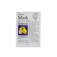 7Days Mask Lemon, mascarilla de limón para una piel luminosa
