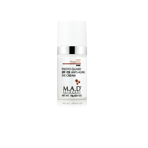 Photo Guard SPF20 Anti Aging Eye Cream, crema hidratante para contorno de ojos con protector solar.
