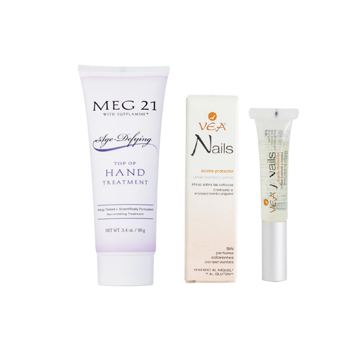Meg21 Hand Treatment + VEA Nails