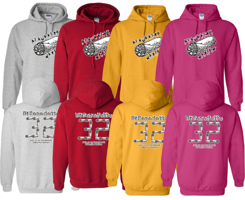 DiBurrito Nation Unisex Hooded Sweatshirt
