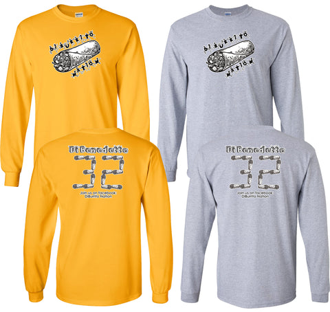 DiBurrito Nation Unisex Long Sleeve Tee