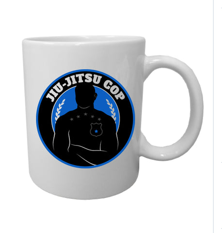 Jiu Jitsu Cop 11oz Ceramic Coffee Mug