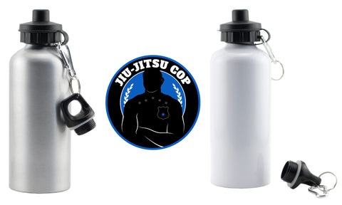 Jiu Jitsu Cop 600ml/20oz Aluminum Water Bottle