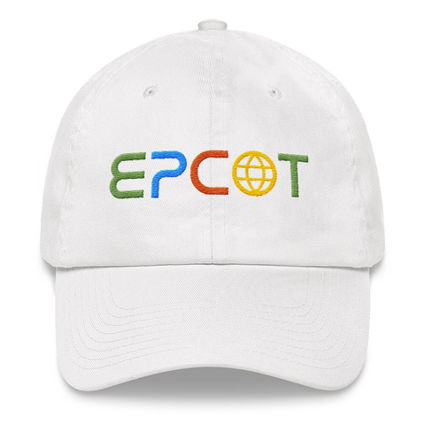 E?COT - Prototype White Dad Hat