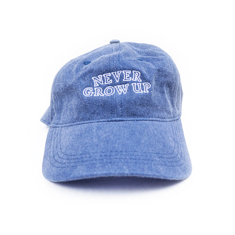 Never Grow Up Hat - Darling Denim