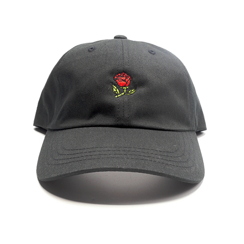 Glass Rose Hat - Beast Black