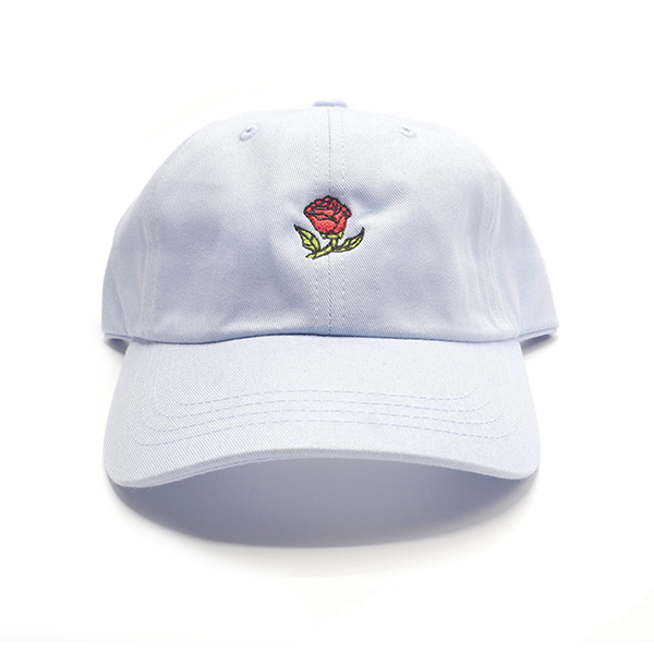 Glass Rose Hat - Potts White