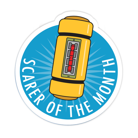 Scarer Of The Month Magnet - PREORDER