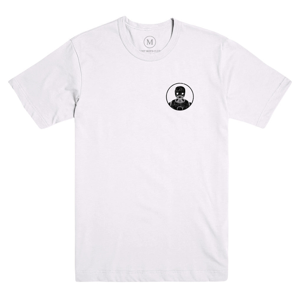 Security Droid Tee - White