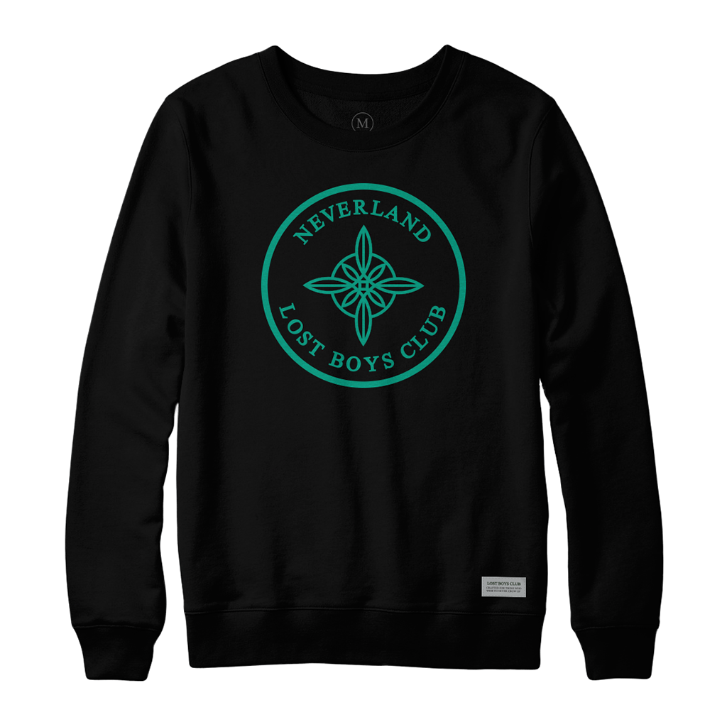 Lost Boys Club Crest Sweatshirt - Black
