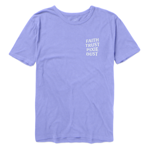Faith Trust Pixie Dust Tee - Lavender