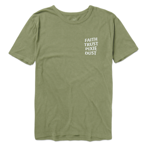Faith Trust Pixie Dust Tee - Tink Green