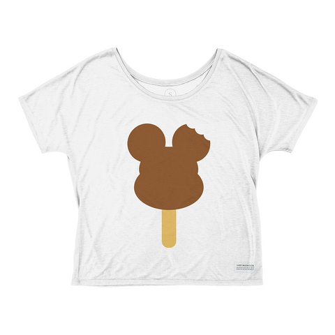 Favorite Treat - Womens Flowy Cropped Boxy Tee