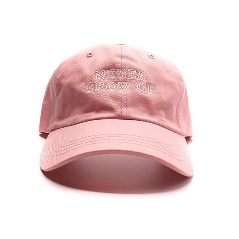 Never Grow Up Hat - Pixie Pink
