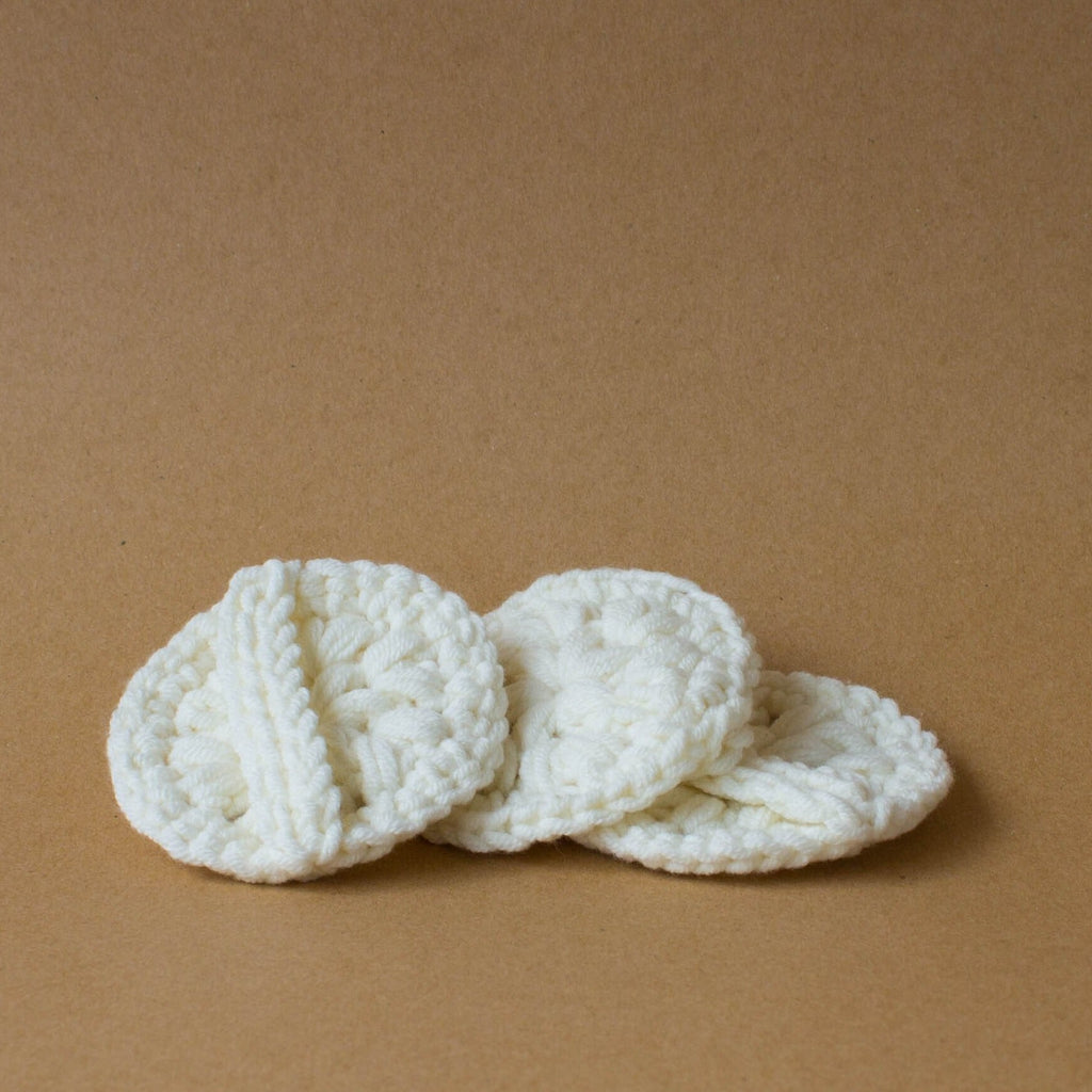 Reusable Crochet Cotton Pads (3 pieces)