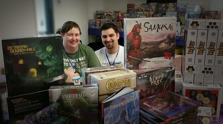 Colin & Jenna - Your Friendly Local Game Specialists