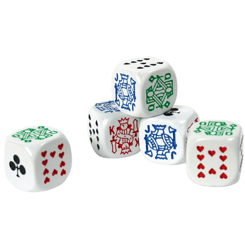 Poker Dice Pack Of 5