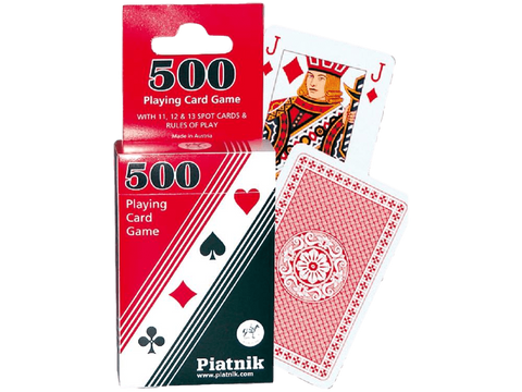 500's Playing Cards
