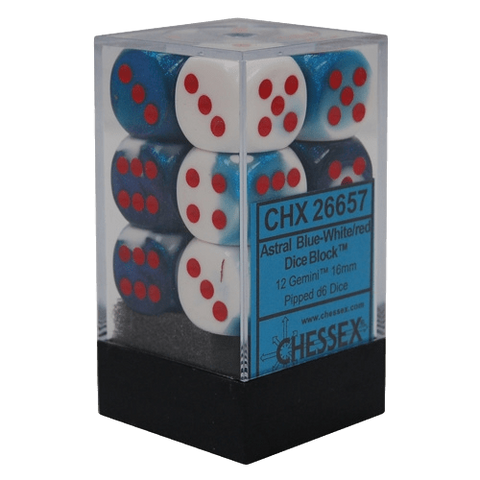 Gemini D6 Dice Blocks (16mm)