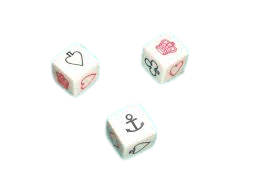 Crown & Anchor Dice