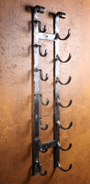 Wall ~ Old World Scroll Top - Forged on Iron