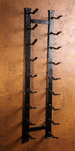 Wall ~ Rustic Arched Top - Forged on Iron