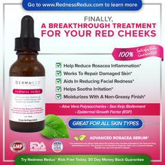 Dermaced® Redness Redux - Advanced Rosacea & Skin-Redness Serum