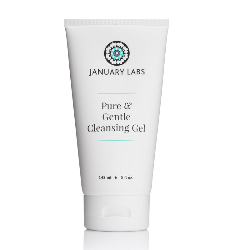january labs pure gentle cleansing gel 148ml