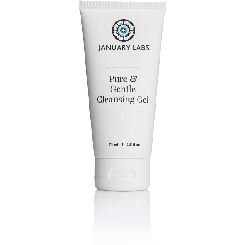 january labs pure gentle cleansing gel 74ml