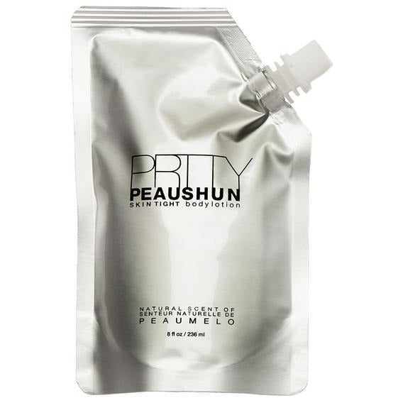 prtty peaushun skin tight body lotion deep dark 236ml