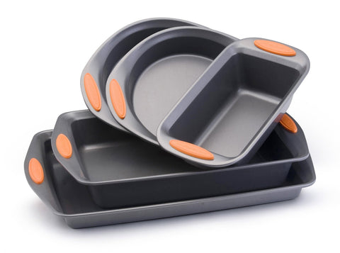 Rachael Ray Oven Lovin' Non-Stick 5-Piece Bakeware Set - KitchenRave - 1