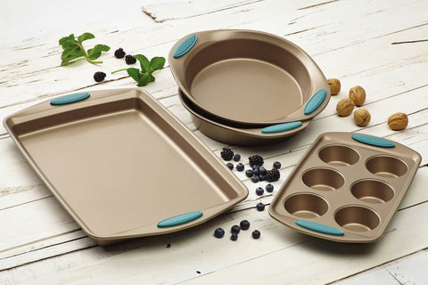Rachael Ray Blue Cucina 4-Piece Bakeware Set - KitchenRave - 1