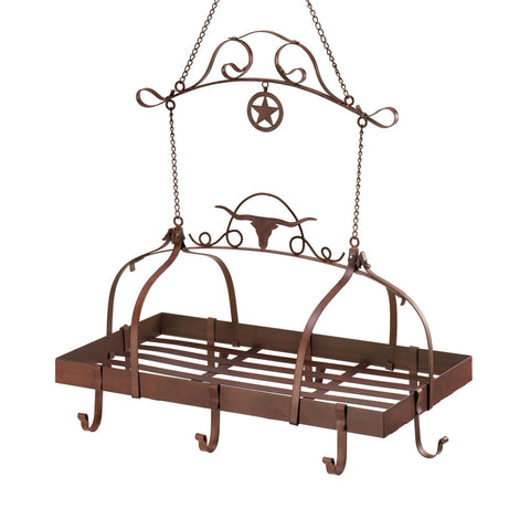 Texas Western Kitchen Pot and Pan Rack and Storage - KitchenRave - 1