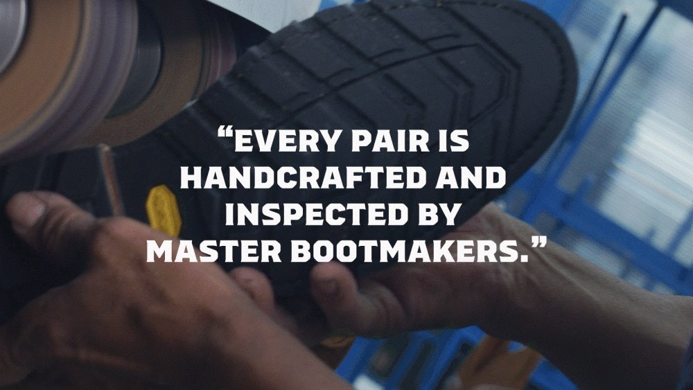 every pair is handcrafted