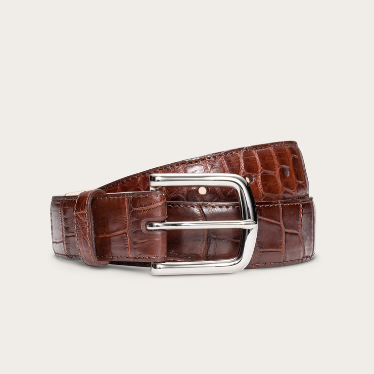 Nickel-Plated Brass Walnut Alligator