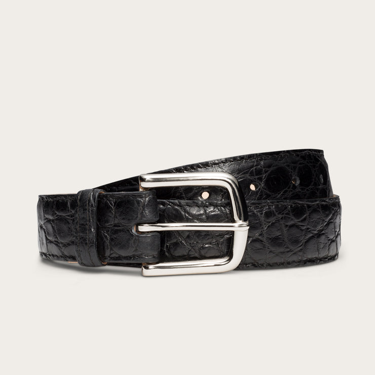 Nickel-Plated Brass Midnight Alligator
