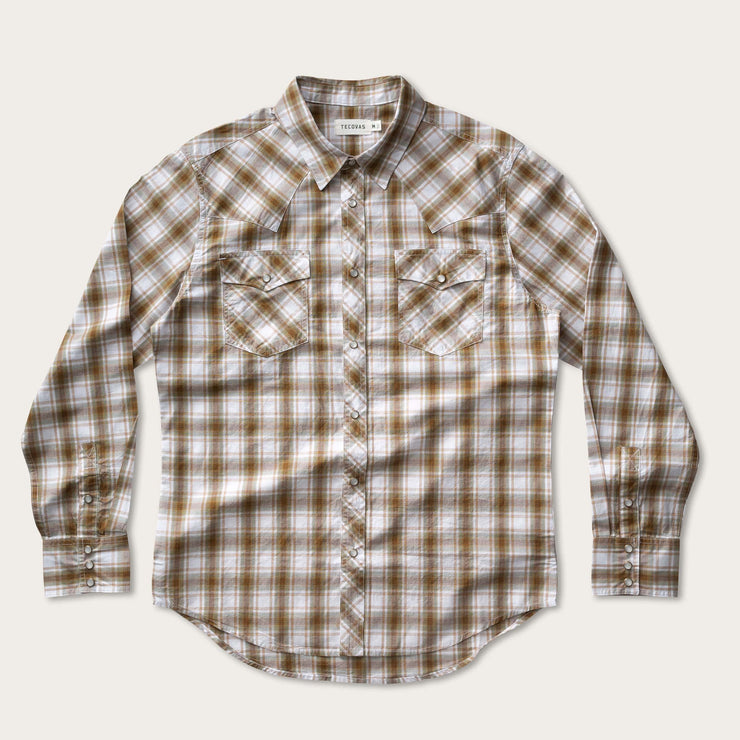 Golden Brown Plaid-prof