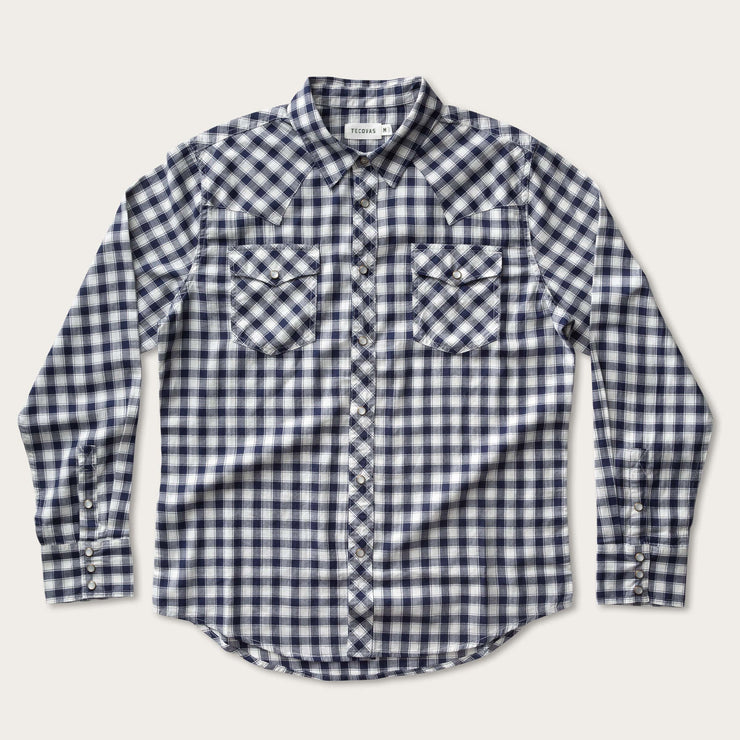 Navy Gingham-prof