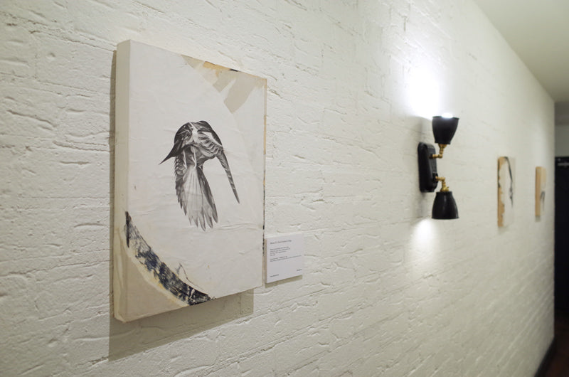 'Flock' by Von. Exhibition of Animal Series at Hoxton Hotel Holborn, London. HelloVon. ShopVon.