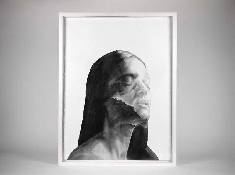 Elsewhere Emma 02 by London artist Von . HelloVon. www.shopvon.com