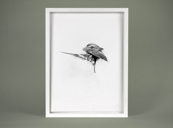 Flight 03 — small original ( Original Art ) screen prints and original art by London artist Von — www.shopvon.com