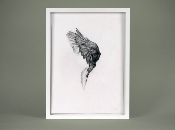 Flight 04 — small original ( Original Art ) screen prints and original art by London artist Von — www.shopvon.com
